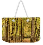 Maple Woods Trail Weekender Tote Bag