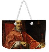 Maratti Carlo Portrait Of Pope Clement Ix Weekender Tote Bag