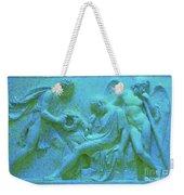 Marble Angel Relief Weekender Tote Bag
