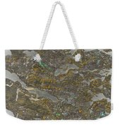 Marble Bark Colored Abstract Weekender Tote Bag