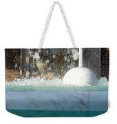 Marble Fountain Shower Weekender Tote Bag