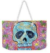 Marble Skull  Weekender Tote Bag