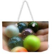 Marbled Weekender Tote Bag