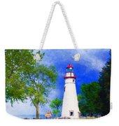 Marblehead Lighthouse  Weekender Tote Bag