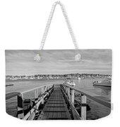 Marblehead Massachusetts Dock Weekender Tote Bag