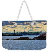 Marblehead Points To The Ocean Weekender Tote Bag
