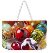 Marbles Close Up Weekender Tote Bag
