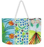 March April May Weekender Tote Bag
