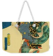 March Cherry Blossom Viewing 1844 Weekender Tote Bag