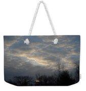 March Clouds In Dawn Sky Weekender Tote Bag