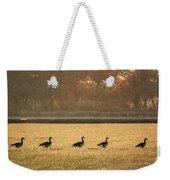 March Of The Geese Weekender Tote Bag
