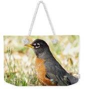 March Robin Weekender Tote Bag