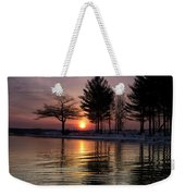 March Sunrise At Detroit Point Weekender Tote Bag