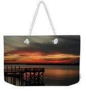 March Sunset Weekender Tote Bag