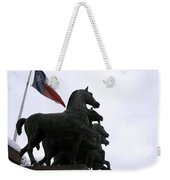 Marching Horses Weekender Tote Bag