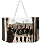 Marching Off On Detail At Fort Mchenry Weekender Tote Bag