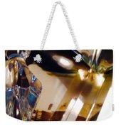 Marci Gras In Abstract Weekender Tote Bag