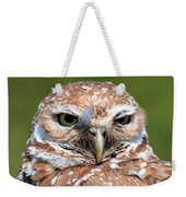 Marco Burrowing Owl - I Know What You're Thinking Weekender Tote Bag