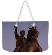 Marcus Aurelius Statue Rome Weekender Tote Bag