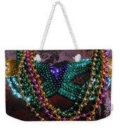Mardi Gras Feminine Mystique Weekender Tote Bag