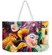 Mardi Gras Images Weekender Tote Bag by Diane Millsap