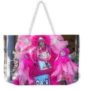 Mardi Gras Indian Weekender Tote Bag