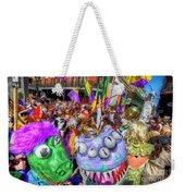 Mardi Gras Mob Weekender Tote Bag