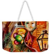 Mardi Gras Night Weekender Tote Bag