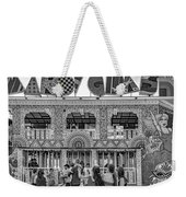 Mardi Gras North - Bw Weekender Tote Bag
