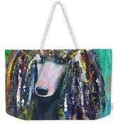 Mardi Gras Poodle Weekender Tote Bag