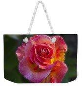 Mardi Gras Rose Weekender Tote Bag