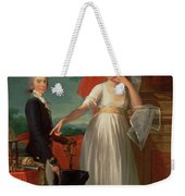 Margaret Callander And Her Son James Kearney  Weekender Tote Bag
