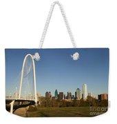 Margaret Hunt Hill Bridge In Dallas - Texas Weekender Tote Bag
