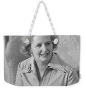 Margaret Thatcher Weekender Tote Bag