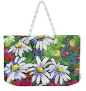 Marguerites 001 Weekender Tote Bag