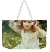 Marguerites Weekender Tote Bag by Frederick Morgan