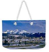 Mariapfarr Snowscape Weekender Tote Bag