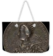 Marie Eleonora Of Brandenburg, 1599-1655, Queen Of Sweden 1620 [reverse] Weekender Tote Bag