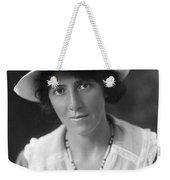 Marie Stopes (1880-1958) Weekender Tote Bag