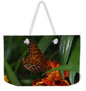 Marigold Grows Wings Weekender Tote Bag
