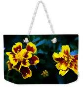Marigold In Living Color Weekender Tote Bag