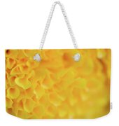 Marigold Texture Weekender Tote Bag