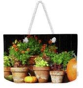 Marigolds And Pumpkins Weekender Tote Bag