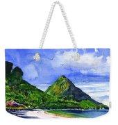 Marigot Bay St Lucia Weekender Tote Bag