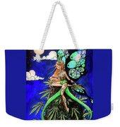 Marijuana Fairy Weekender Tote Bag