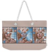 Marilyn 127 Tryp Weekender Tote Bag by Theo Danella