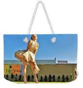 Marilyn In Palm Springs Weekender Tote Bag