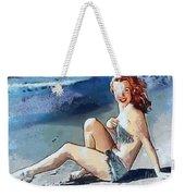 Marilyn Mermaid Fragmented Weekender Tote Bag