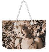 Marilyn Monroe 126 A 'sepia' Weekender Tote Bag