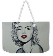 Marilyn Monroe Dripping Weekender Tote Bag